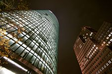 Free Skyscrapers At Potsdamer Platz Royalty Free Stock Images - 3800389