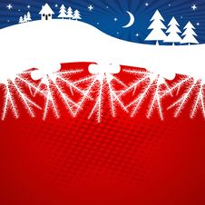 Free Abstract Christmas  Background Royalty Free Stock Photo - 3800515