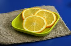 Free Healthy Orange Slices Royalty Free Stock Images - 3800829