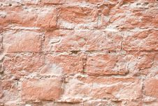 Free The Red Brick Wall Royalty Free Stock Photo - 3801515