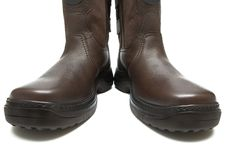 Free Man S Boots On A Thick Sole Stock Photos - 3801773