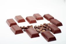 Free Chocolate-Coffee Background Royalty Free Stock Images - 3801799