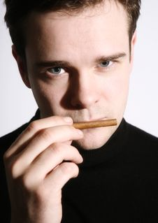 Free Concerned By Smoking Stock Photography - 3802032