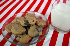 Free Milk And Cookies Royalty Free Stock Photo - 3802315