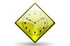 Free Clock Icon3 Royalty Free Stock Photography - 3802387