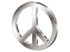 Free Hippie Symbol Royalty Free Stock Images - 3802509