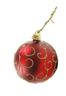 Free Red Ornament Royalty Free Stock Photos - 3802658