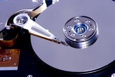 Free Inside Hard Disk Drive Stock Images - 3802954