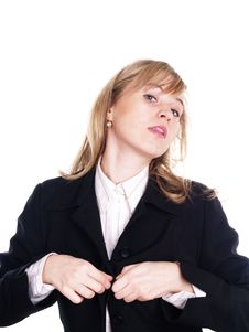 Free Woman In Suit Royalty Free Stock Image - 3803546