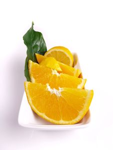 Free Oranges, Lemon, Leaf Stock Image - 3804031