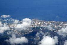 Free Coast From Sky Stock Image - 3804201