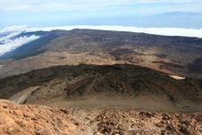Free Volcano Large Caldera Royalty Free Stock Photo - 3804225