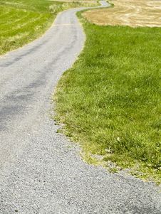 Free Path On The Field Stock Photo - 3804940