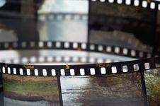 Free Frames Of The Slide Film Stock Image - 3805231