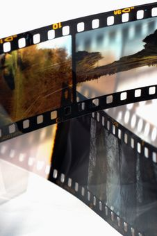 Free Frames Of The Slide Film Stock Photos - 3805283
