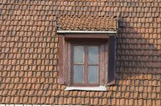 Free Roof, Window, Tile Royalty Free Stock Photo - 3805285