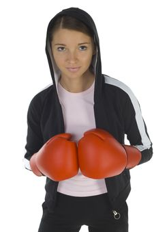 Free Hooded Boxer Stock Images - 3805574