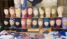 Free Head Scarves For Sale In Market Stock Image - 3806241