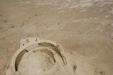 Free Terrace Of Herod S Palace, Masada Royalty Free Stock Images - 3806369