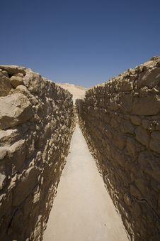 Free Storage Room, Masada, Israel Stock Images - 3806414