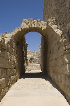 Free Arch At Ruins Of Caesarea Stock Image - 3807071