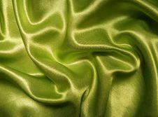 Green Satin Royalty Free Stock Photos