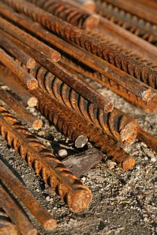 Free Steel Rods Royalty Free Stock Photography - 3807507