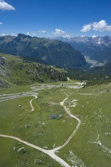 Free Beautiful Summer Mountain Landscape Stock Photos - 3807553