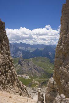 Free Beautiful Summer Mountain Landscape Stock Photos - 3807573