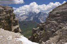 Free Beautiful Summer Mountain Landscape Stock Photo - 3807580
