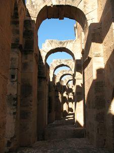 Free Tunis Coliseum Royalty Free Stock Photos - 3807798
