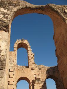 Free Tunis Coliseum Stock Photo - 3807810