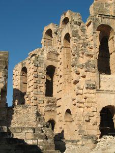 Free Tunis Coliseum Stock Images - 3807814