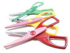 Free Craft Scissors Stock Photography - 3807852