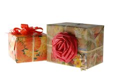 Free Gifts - Ornament Rose Royalty Free Stock Image - 3808486
