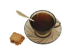 Free Tea And Cookie Stock Photos - 3808633