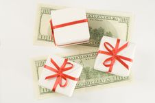 Free Boxes On Monetary Banknotes Stock Photos - 3808653