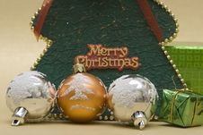 Free Festive Balls Stock Images - 3808674