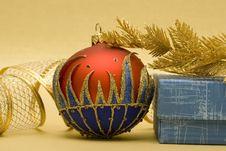 Beautiful Christmas Ball Royalty Free Stock Image