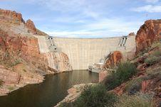 Free Rosevelt Dam Royalty Free Stock Photography - 3808867