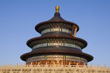 Free Temple Of Heaven Stock Photography - 3809012
