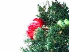 Free Beautiful Christmas Tree Close-up Royalty Free Stock Images - 3809709