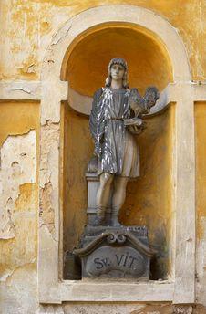 Free Statue Of Saint Vit Stock Images - 3809774