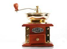 Free Retro Coffee Mill Royalty Free Stock Photos - 3809988
