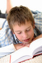 Free Boy Learning On The Floor Stock Photo - 3814480