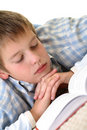 Free Boy Learning On The Floor Stock Photo - 3814490