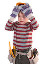 Free Young Builder Royalty Free Stock Image - 3819406