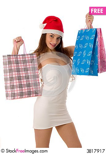 Free Holiday Shopping Royalty Free Stock Photography - 3817917