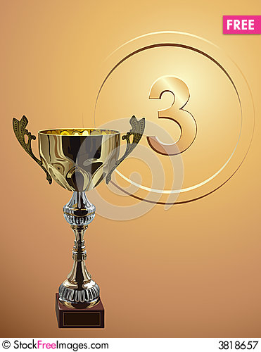 Free Competition Cup_on_bronze_background Royalty Free Stock Photography - 3818657
