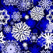 Free Seamless Snowflake Wallpaper Stock Photos - 3810083